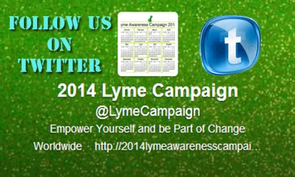 Twitter Lyme Campaign 2014